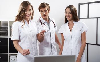 Medizin Berufsbekleidung
