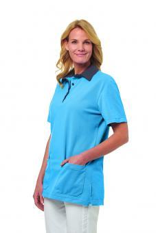 Poloshirt für Damen und Herren Leiber 08/2743, 50/50 Mischgewebe, in 4 Farbvarianten