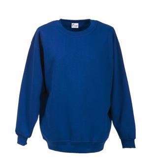 Sweat-Shirt FaPak 1280, 50/50 Mischgewebe, 17 Farben royalblau / royal blue | L