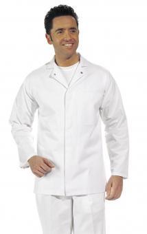 Unisex HACCP Jacke Leiber 12/733, Mischgewebe, weiß