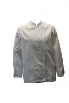 Kochjacke BP 1500, 100% Baumwolle, Kugelknöpfe, weiß