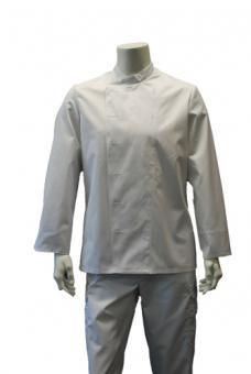 Image Kochjacke BP 1502, 100% Baumwolle, weiß, für Kugelknöpfe