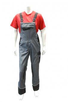 Latzhose BP 1608, Work & Wash color, Mischgewebe, 4 Farben, 3 Längen dunkelgrau/schwarz | 54l | 65% Polyester / 35% Baumwolle