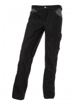 Arbeitshose BP 1788, BPerformance, Mischgewebe, 6 Farben, 3 Längen schwarz/dunkelgrau | 52L | 65% Polyester / 35% Baumwolle