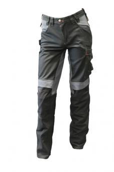 Arbeitshose BP 1789, BPerformance, Mischgewebe, 6 Farben, 3 Längen dunkelgrau/schwarz | 48S | 65% Polyester / 35% Baumwolle