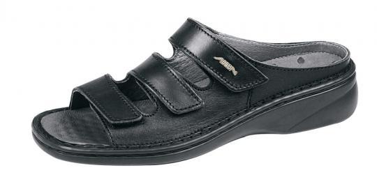 Pantolette ABEBA 6912, schwarz, OB