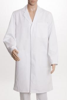 Herrenmantel BP 1619, 100% Baumwolle oder Mischgewebe, 2 Längen, Druckknöpfe