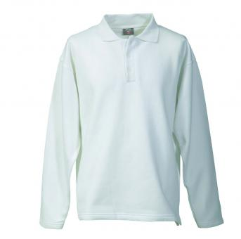 Polo-Sweat-Shirt FaPak 1290, 50/50 Mischgewebe, 5 Farben